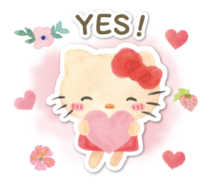 Pin by Janette on STICKER in 2020  Hello kitty Cute
