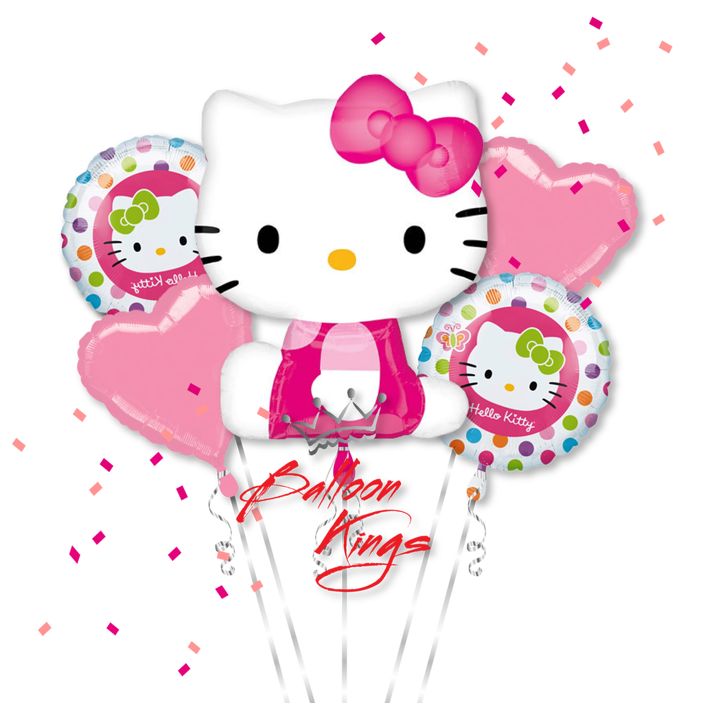 Hello Kitty Pink Bouquet  Balloon Kings