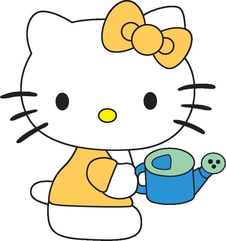 hello kitty birthday cake topper 16 Hello Kitty free svg