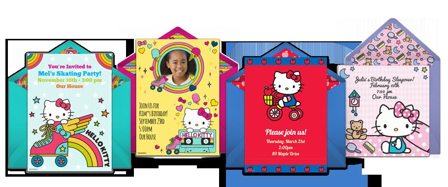 Free Hello Kitty Invitations Hello Kitty Online
