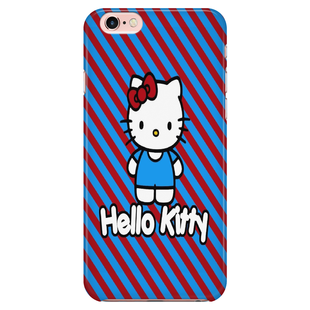 Hello Kitty Hard Glossy Plastic Case for iPhone 77s