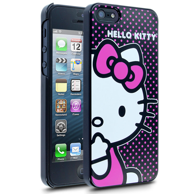 Hello Kitty Polka Dots Case for Apple iPhone 5  Hello