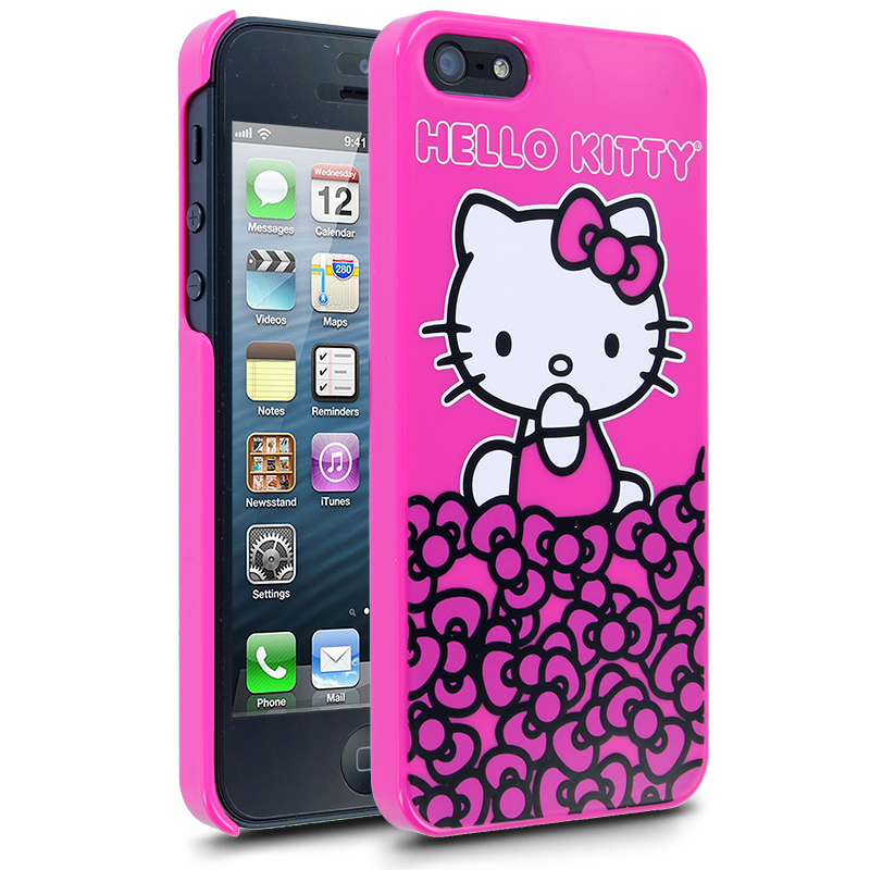 Hello Kitty Half Bows Case for Apple iPhone 5  Hello