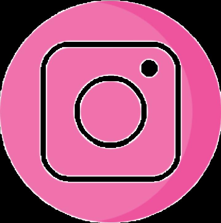instagram logo rosa  Sticker by Zuzii Cruz