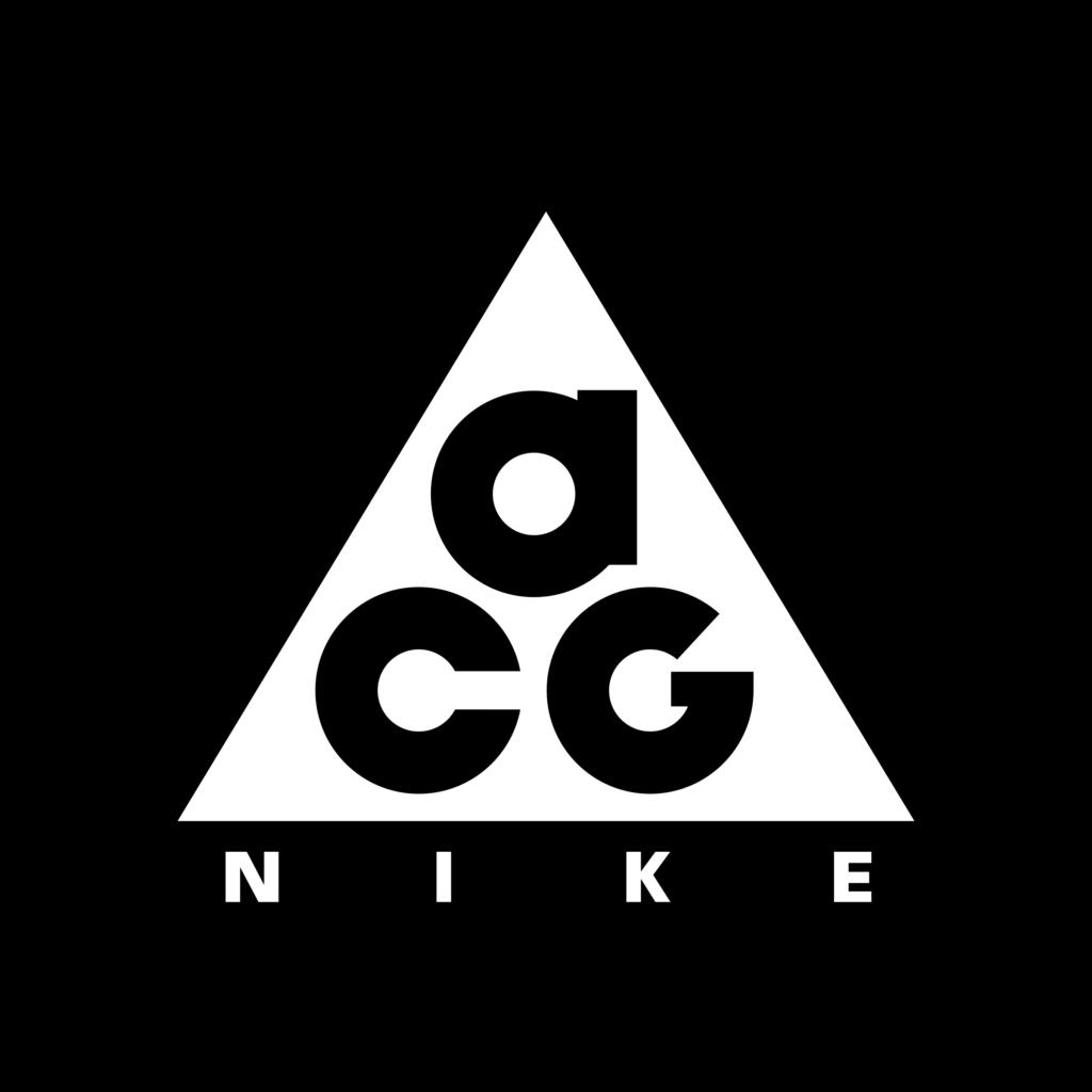 NIKE ACG LOGO  Nike acg Outdoor logos Minimalist logo