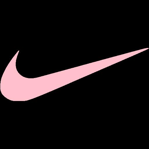 Pink nike icon  Free pink site logo icons