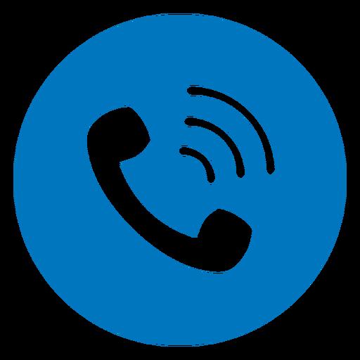 Call blue icon AD  Sponsored PAID icon blue