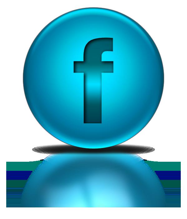 Blue Metallic Orb Icon Social Media Logos Facebook Logo - Light Blue Snapchat Logo
