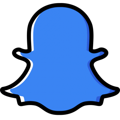 Snapchat logo PNG Images With Transparent Background