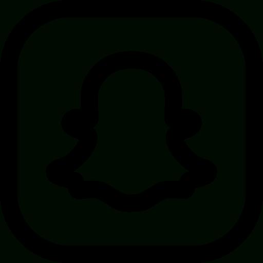 Snapchat Icon Black at GetDrawings  Free download