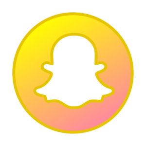 618 Gradient icon images at Vectorified.com - Neon Blue Snapchat Logo