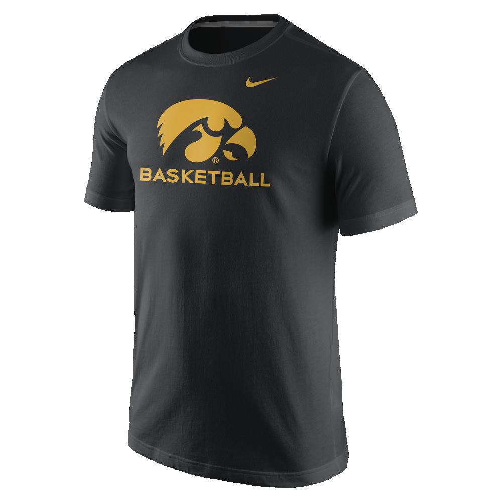 Nike College Basketball Logo Iowa Mens TShirt Size