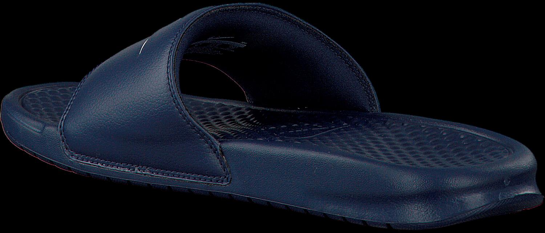 Blue NIKE Flip flops BENASSI JDI MEN - Omoda.com - Nike Logo Flipped
