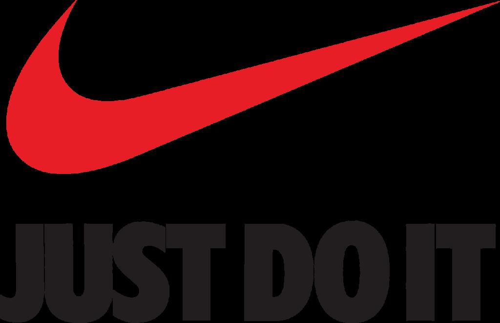Just Do It Nike Swoosh Logo Brand  nike logo png download