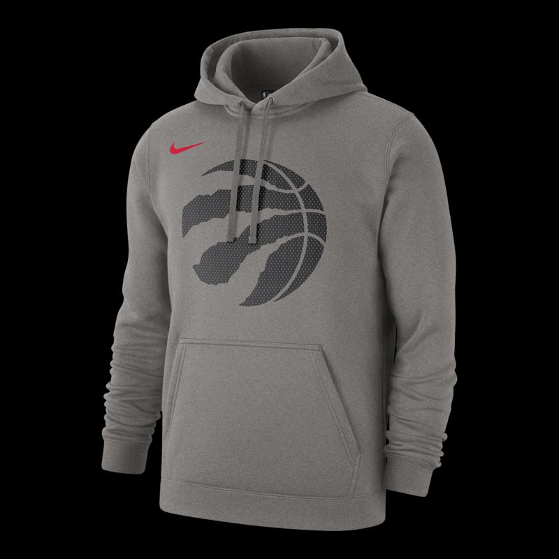 Toronto Raptors Mens Nike Club Fleece Logo Hoodie  Sport