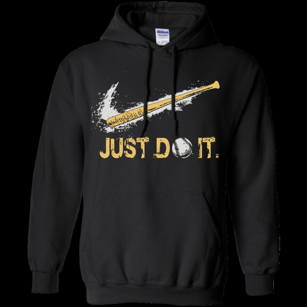 AGR Just Do It Baseball Mashup Nike Logo Hoodie  AGREEABLE