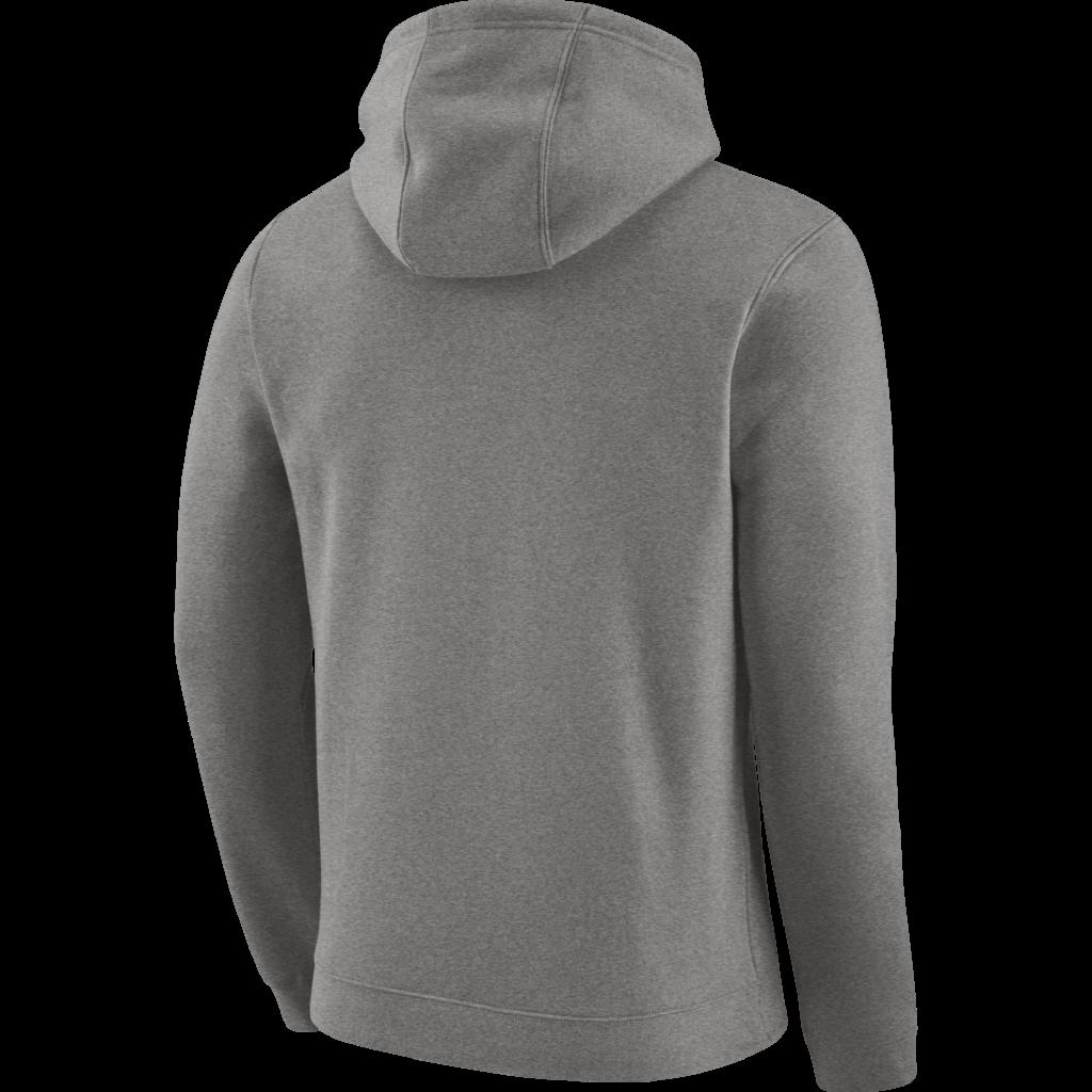 Philadelphia 76ers Mens Grey Fleece Logo Hoodie by Nike