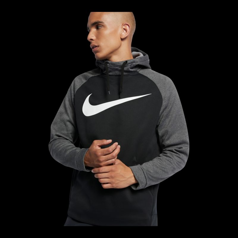 Nike Mens Therma Essential Swoosh Pullover Hoodie  Sport