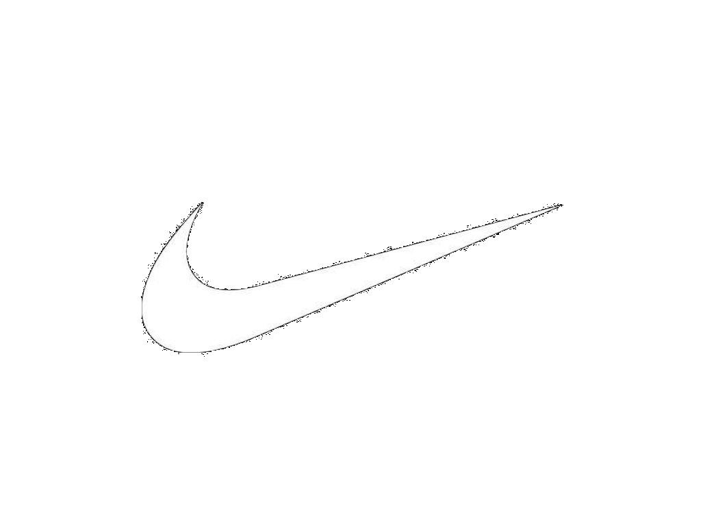 Nike Logo Outline  Free Nike Logo Outlinepng Transparent