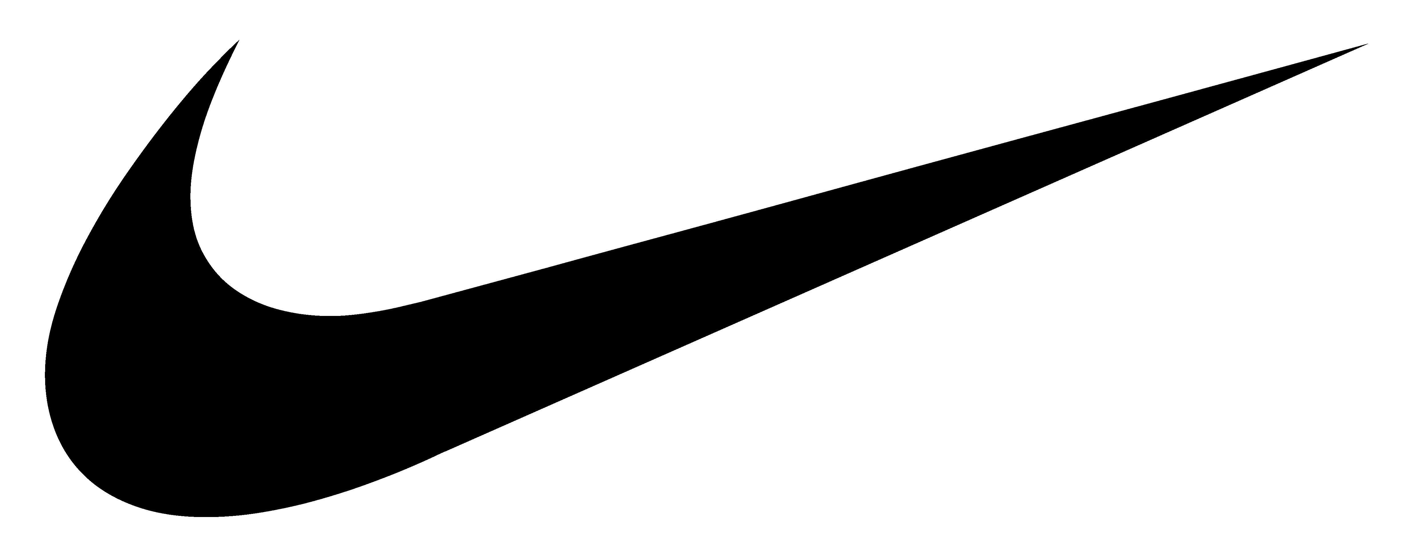 Nike logo PNG images free download - Nike Logo Outline