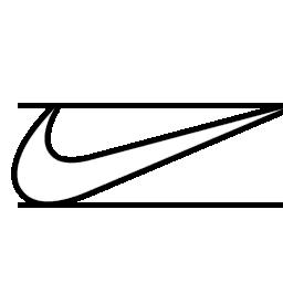 Nike Swoosh Logo Outline  Logo outline Nike swoosh logo