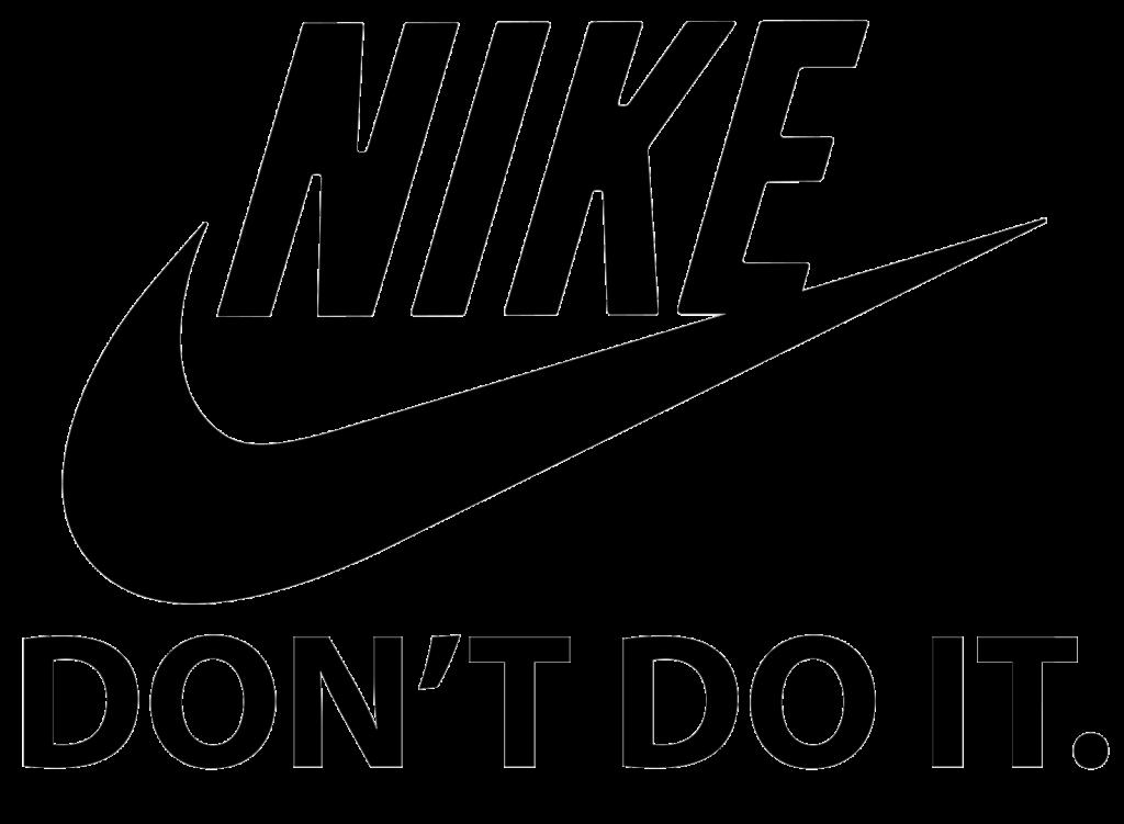 Just Do It Logo Nike Swoosh Brand  nike png download