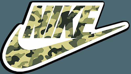 Sticker Nike Camo  MuralDecalcom
