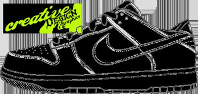 Free Nike Dunks Sketch PSD Vector Graphic  VectorHQcom