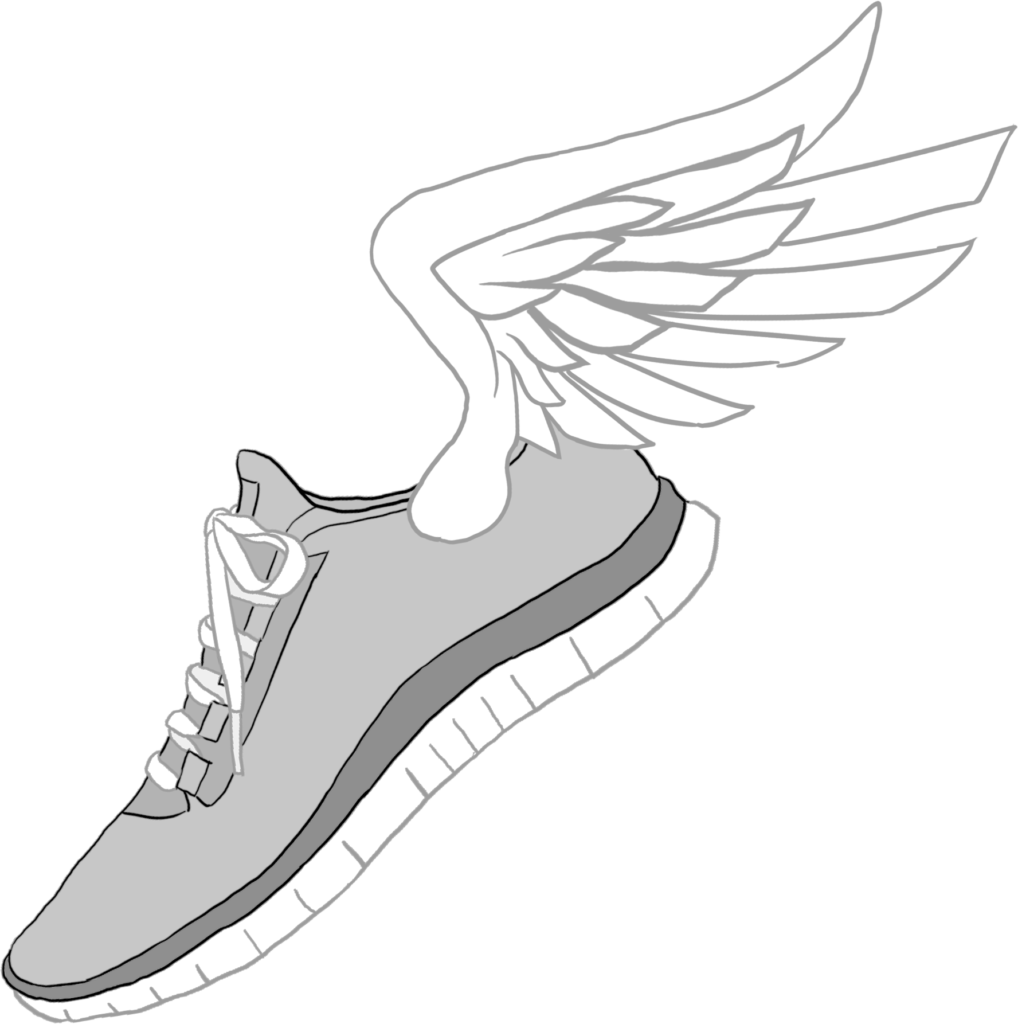 Download Nike Clipart Transparent  Shoes With Wings