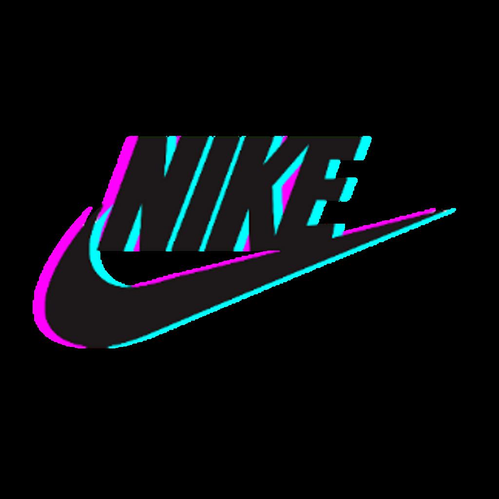 freetoedit nike glitch tumblr - Sticker by 7K - Nike Logo Sticker