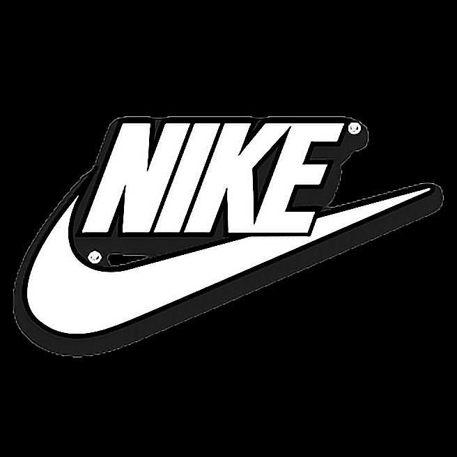 nike white logo  Sticker by Ryan Quotah
