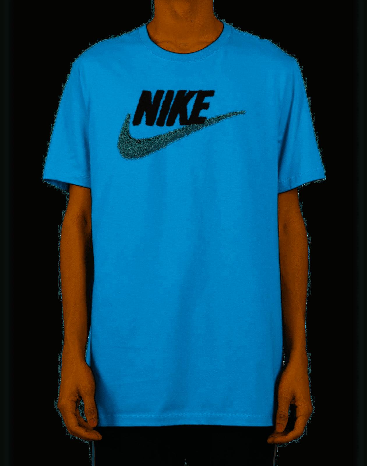 Nike Graphic logo Men's T-Shirt Blue size Large - T-Shirts - Nike Logo T-Shirt