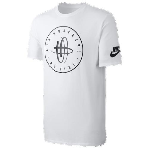 Nike Huarache Logo TShirt  Mens  Casual  Clothing  White