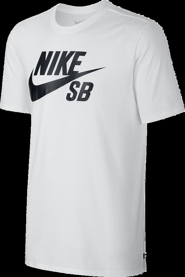 Koszulka Nike SB Logo TShirt White  Black