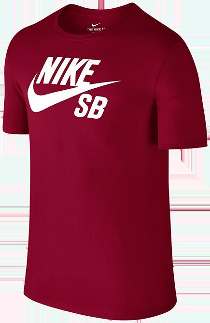 Koszulka Nike SB Logo TShirt Red Crush  White