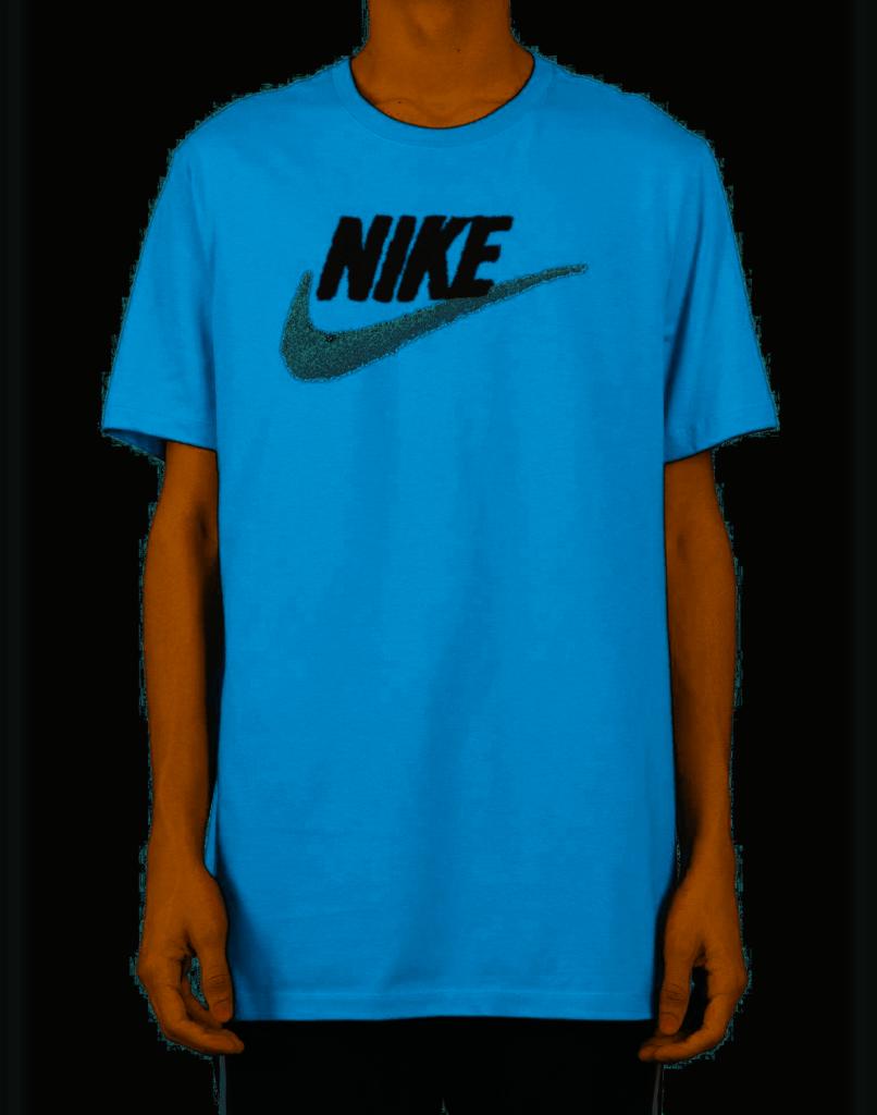 Nike Graphic logo Mens TShirt Blue size Large  TShirts