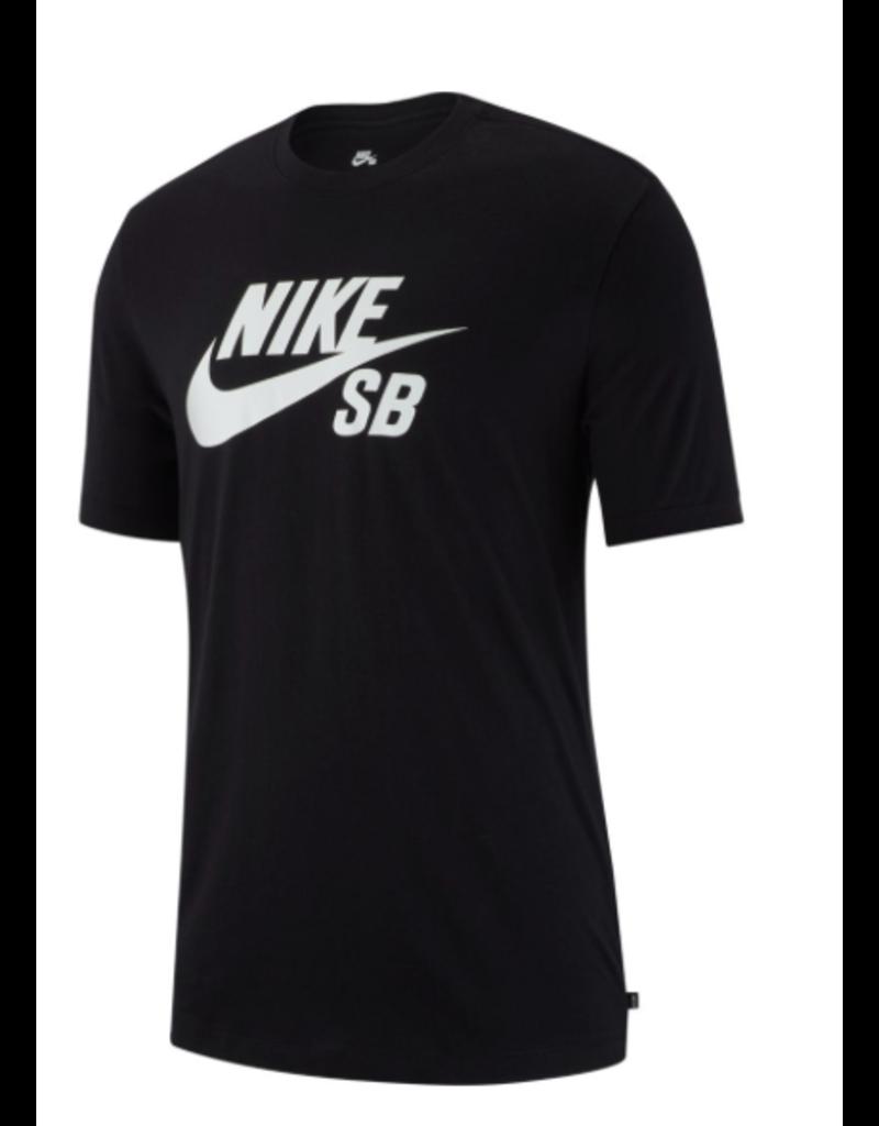 Nike sb Dry Dfct Logo Tshirt BlackWhite  FA SKATES