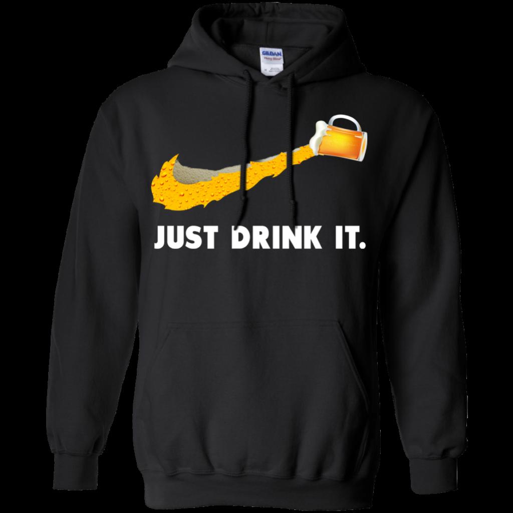 Love Beer Just Drink It Nike Logo TShirts Hoodies Tank Top