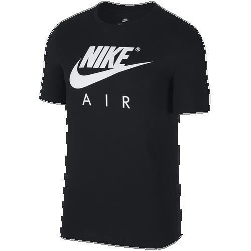 Nike Air Logo TShirt  Mens  Casual  Clothing  Black