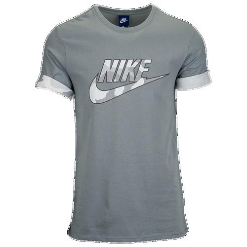 Nike Futura Camo Logo TShirt  Mens  Casual  Clothing