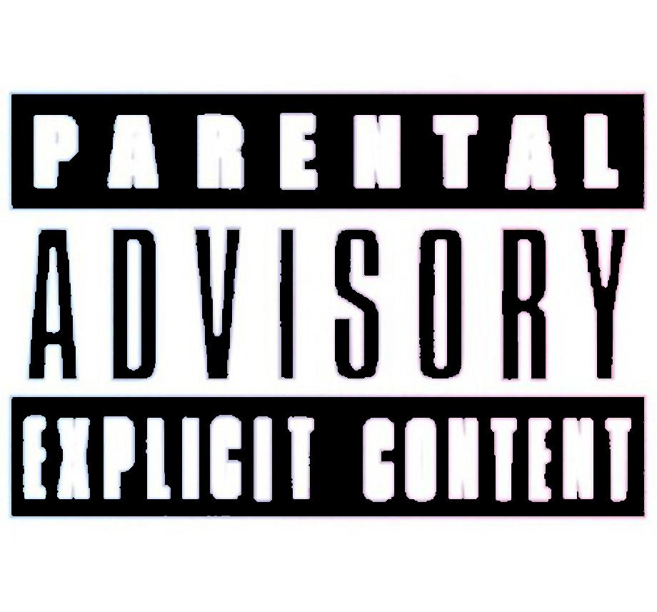 Download High Quality parental advisory transparent