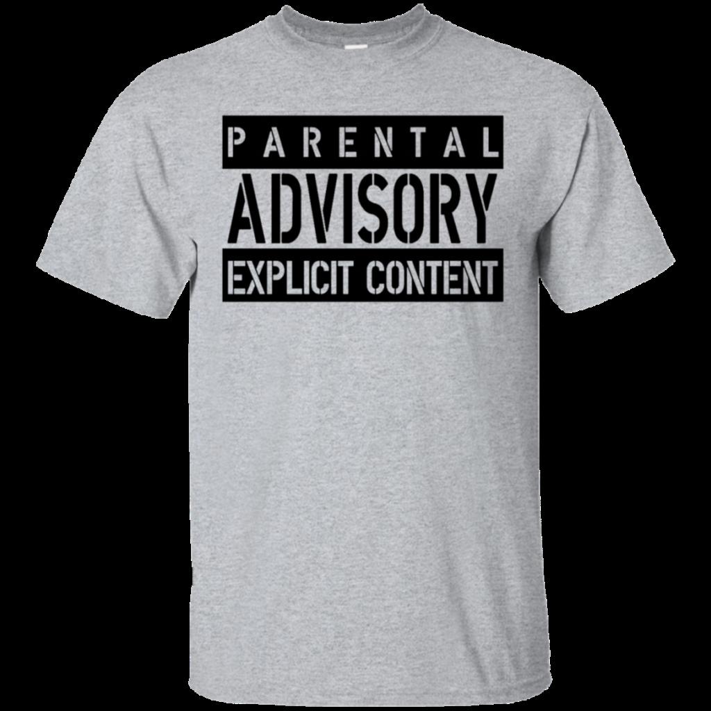 AGR parental advisory explicit W Mens Cotton TShirt
