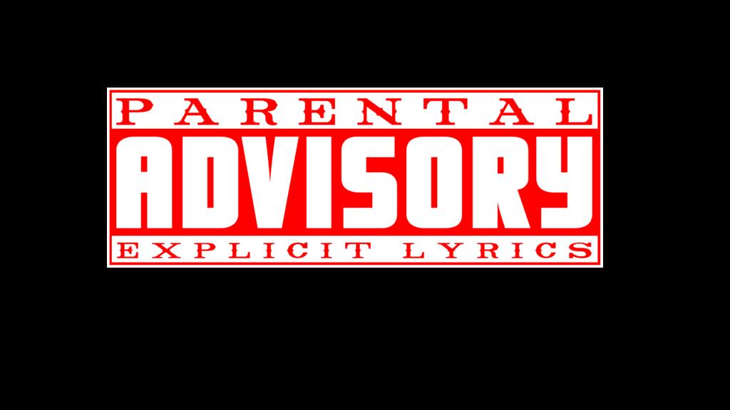 parental advisory explicit lyrics red