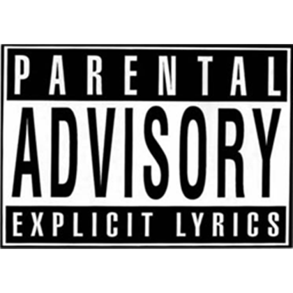 Parental Advisory Png White 43533  Free Icons and PNG