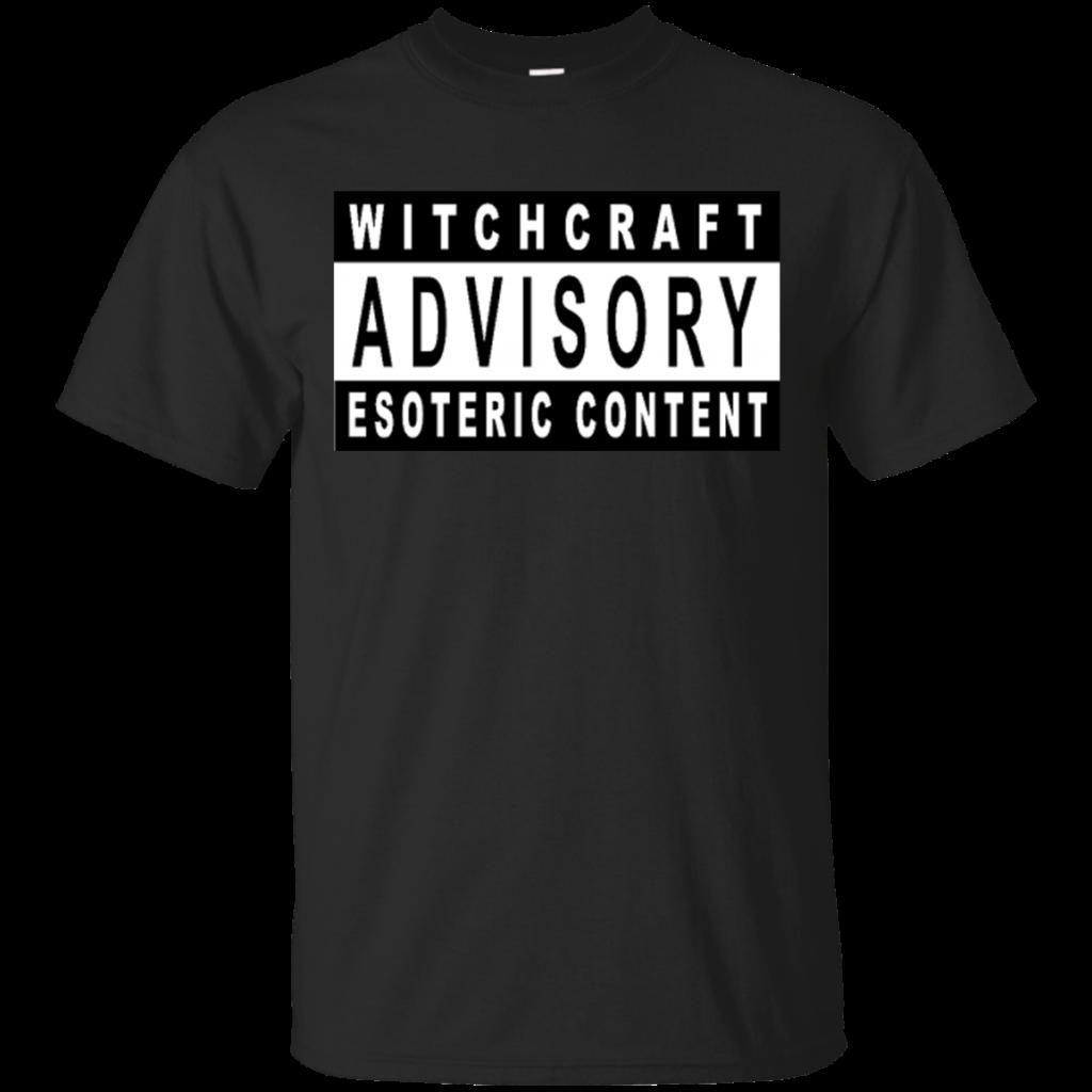 Parental Advisory Witchcraft Shirts  Teebubbles