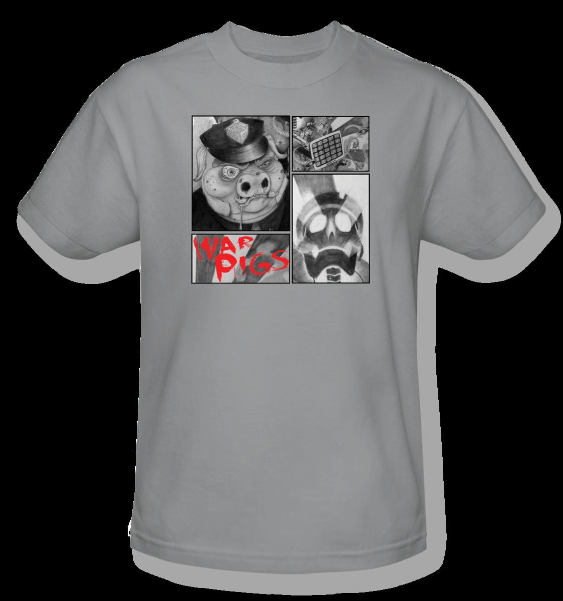 D13HARD™: War Pigs T-Shirt + FREE MUSIC DOWNLOAD - Parental Advisory Shirt