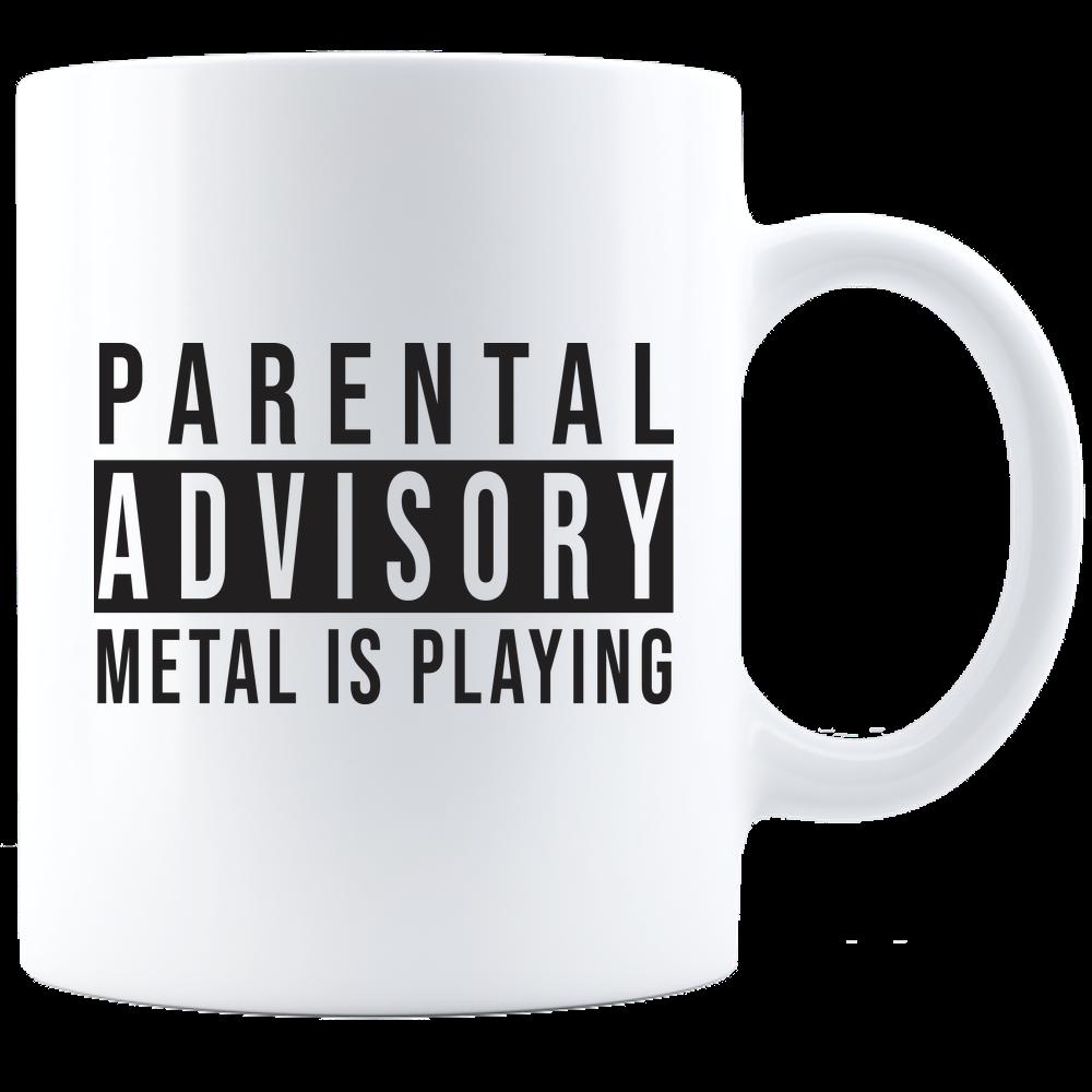 Parental Advisory Mug  Mugs Parental advisory Ceramic mug