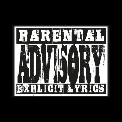Parental Advisory lyrics vector logo  Parental Advisory