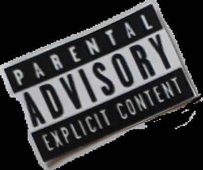 parental advisory    Sticker by sofiamariani15