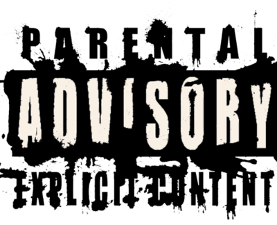 Bloody Parental Advisory Png 43522  Free Icons and PNG